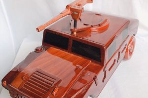 Wooden Model 3D CAR - SAFIMEX - HANDICRAFT (2)