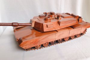 Wooden model 3D TANK- SAFIMEX - HANDICRAFT