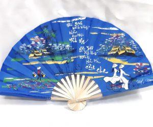 safimex handicraft Silk Fan design 05