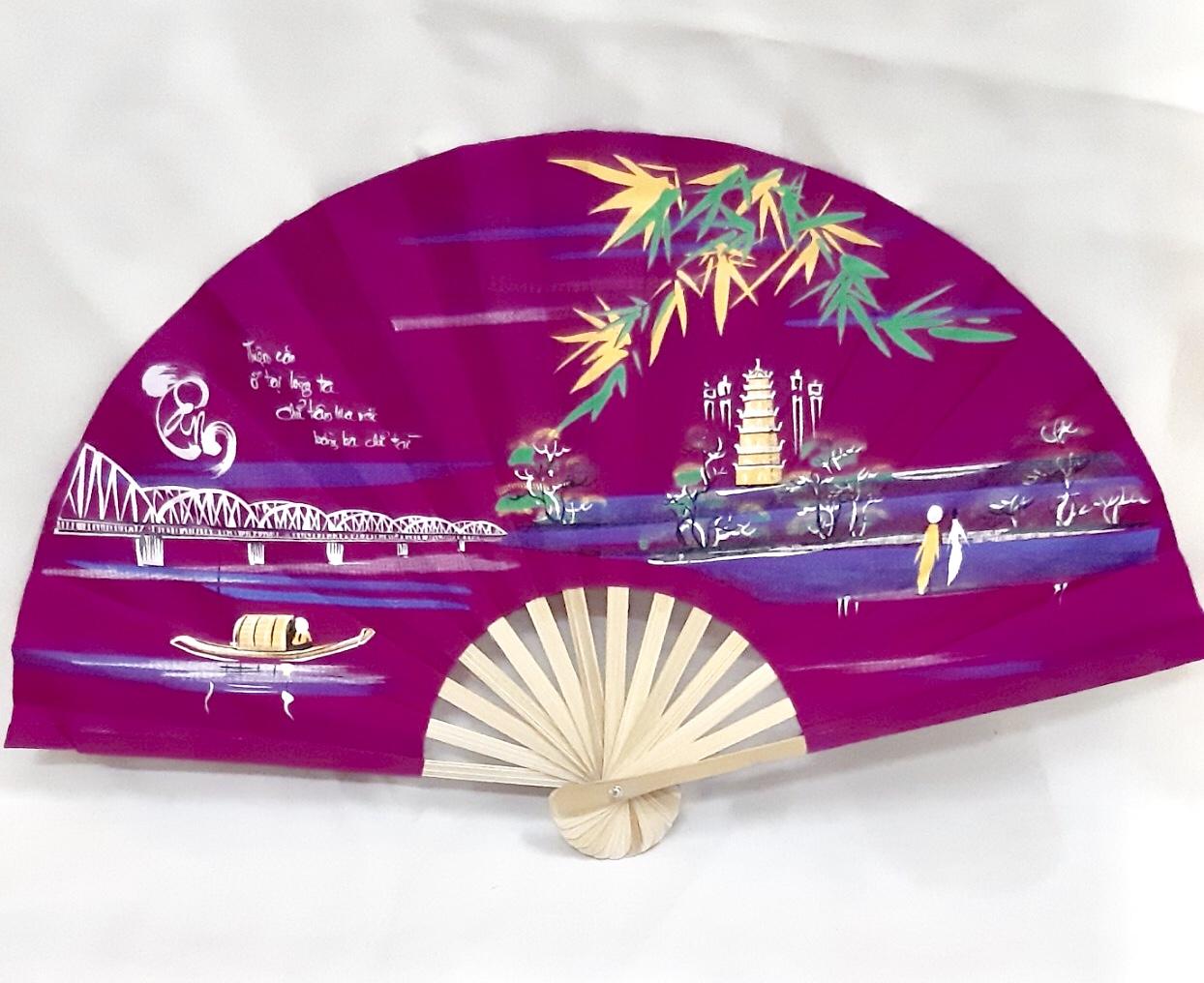 Silk Fan design 07 SAFIMEX HANDICRAFT