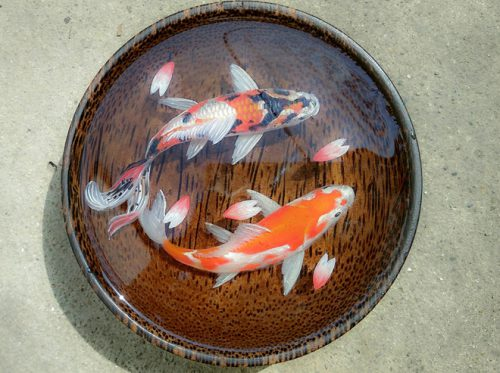 3D Painting Plate SAFIMEX handicraft