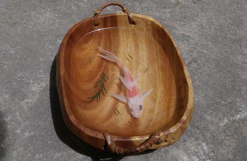 3D Painting Plate handmade