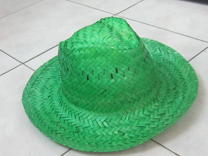 COLOR PALM LEAF HAT 2-SAFIMEX-HANDICRAFT