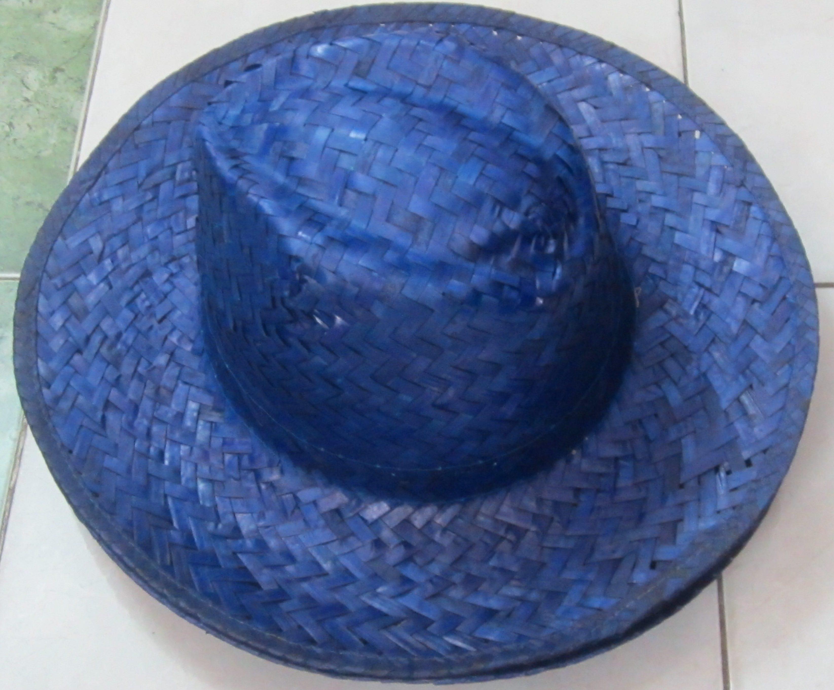 Color Palm Leaf Hat SAFIMEX