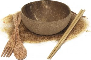 Coconut spoon bowl