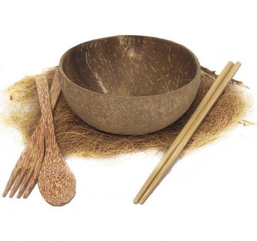 Coconut spoon bowl