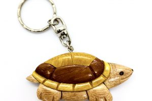 WOOD KEYCHAIN -SAFIMEX-HANDICRAFT