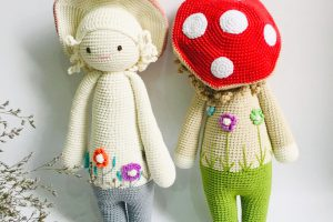 Knitted animals Knitted doll-SAFIMEX (10)