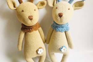 Knitted animals Knitted doll-SAFIMEX (14)