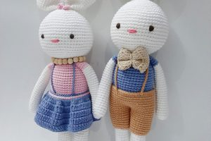 Knitted animals Knitted doll-SAFIMEX (15)