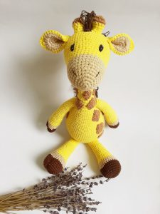 Knitted animals Knitted doll-SAFIMEX (20)