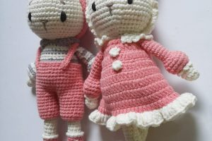 Knitted animals Knitted doll-SAFIMEX (8)