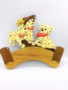 Wood Plaque -- handicraft