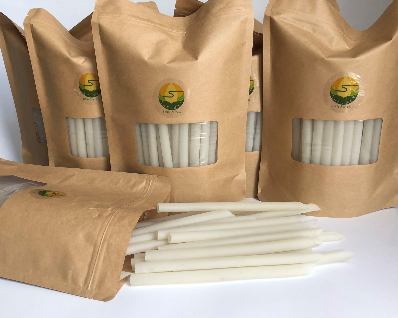RICE STRAW -SAFIMEX drinking straw- eco friendly 15
