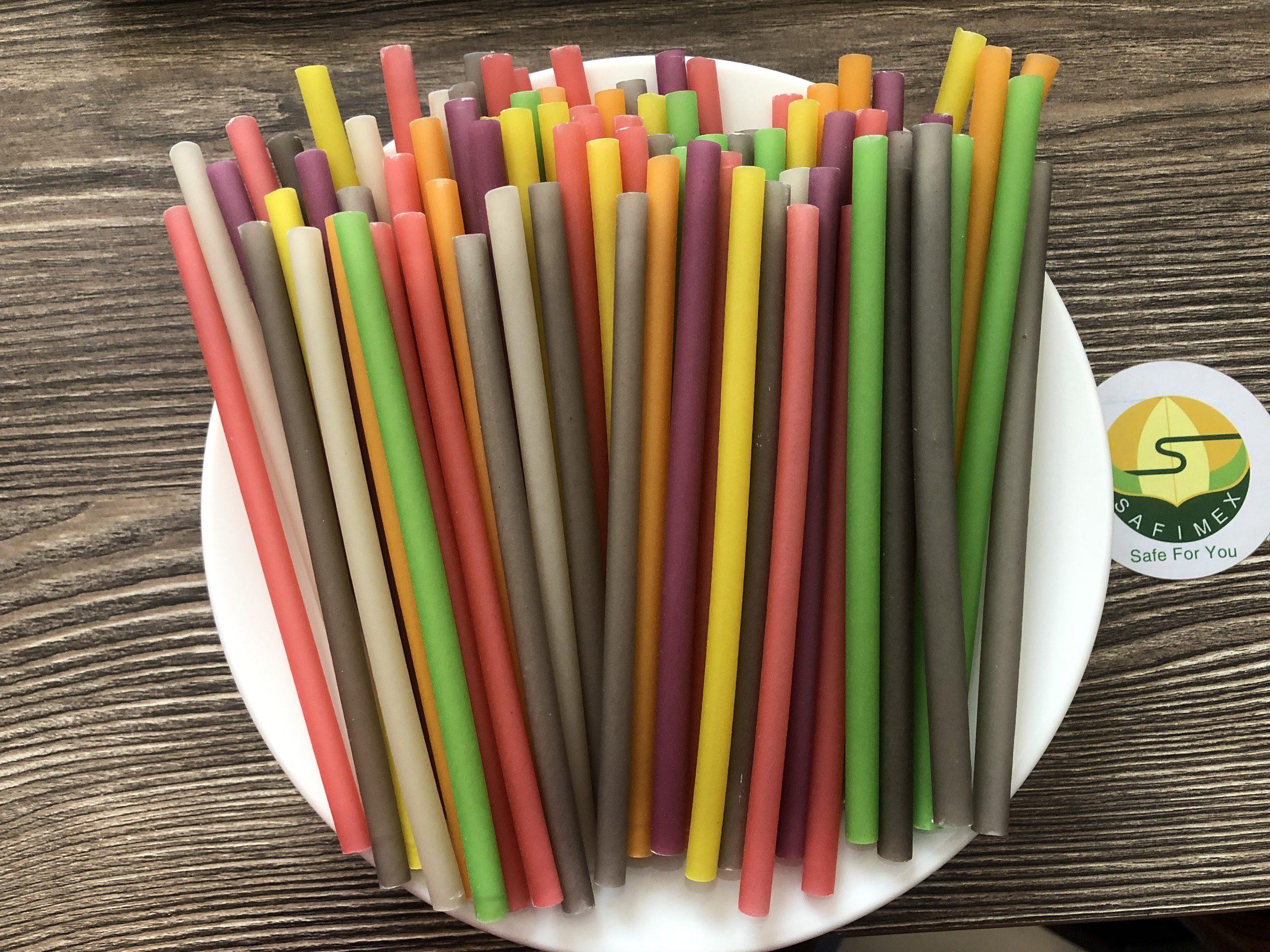 RICE STRAWS -SAFIMEX drinking straw- eco friendly 16