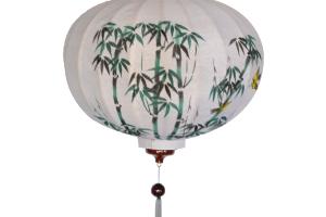 Circular Silk Lantern