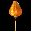 Garlic Inverted Silk Lantern