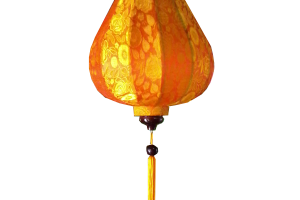 Garlic Inverted Silk Lantern