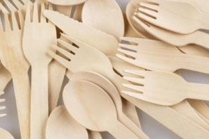 Disposable Wooden Fork, Spoon, Knive