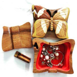 wood puzzle box DECORATION SAFIMEX