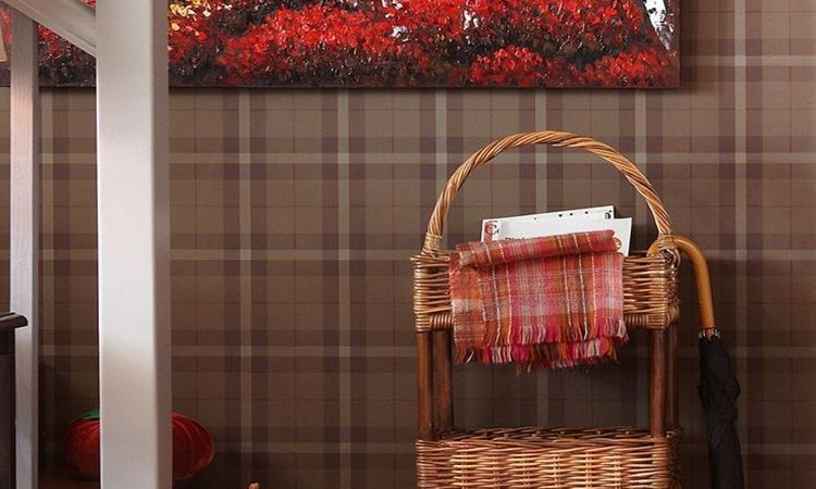 7. Decorations suitable for any atmosphere rattan basket