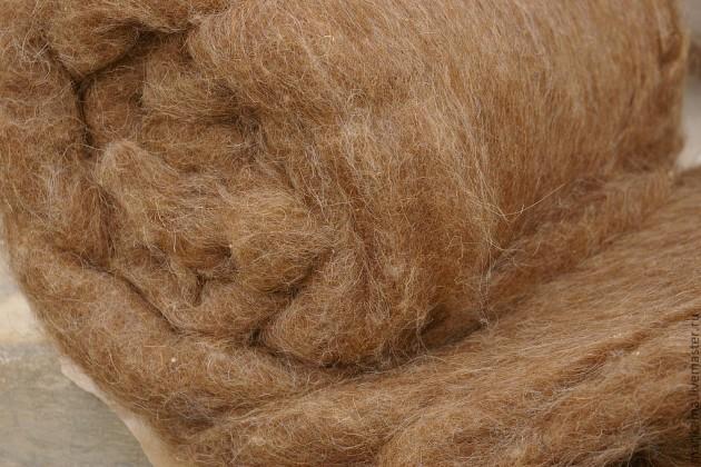 camel hair fibre