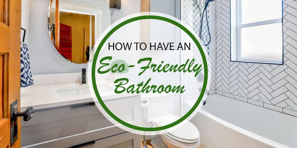 eco-friendly bathroom